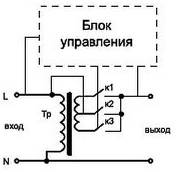 Рис.4. упрощённая схема